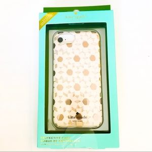 Kate Spade Protective iPhone 8/7/6/6s Case Daisies